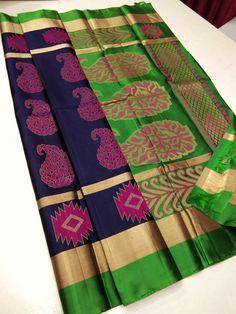 Saree Design Patterns, Pattern Design, Silk Sarees, Pure Products, Quilts, Blanket, Blouse, Quilt Sets, Blouses