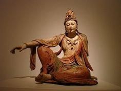 仏像,美しい観世音菩薩像,観音像,朝鮮,アメリカ,セントルイス美術館,アメリカ・ミズーリ州