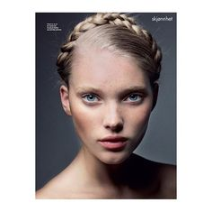 En liten throwback: Fantastiske @hoskelsa for ELLE Norge Fotograf: @asatallgard Hår: @prestonhair Makeup: @annececilieolavesen #tbt #beauty #braids  via ELLE NORWAY MAGAZINE OFFICIAL INSTAGRAM - Fashion Campaigns  Haute Couture  Advertising  Editorial Photography  Magazine Cover Designs  Supermodels  Runway Models