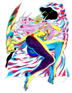 Iris dreams of death. Jonny Negron