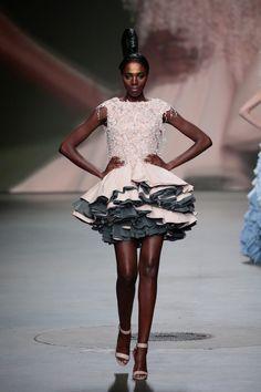 Monique Collignon Haute Couture winter 2016