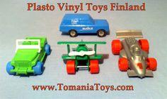 PLASTO Finland - www.tomaniatoys.com Vinyl Toys, Finland, How To Make
