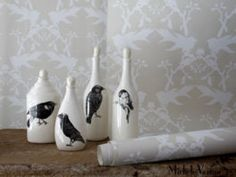Black Bird Bottles <3