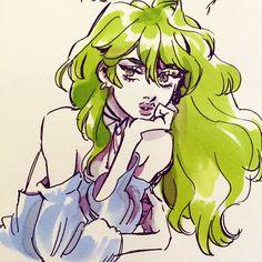 Я комический художник и писатель. Я в настоящее время чертеж SNOTGIRL. Электронная почта: leslieahung@gmail.com /...