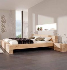 bett balken bett mehr schlafzimmer pinterest suche. Black Bedroom Furniture Sets. Home Design Ideas