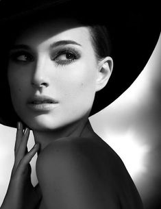 Natalie Portman - Capture the glamour of women. Notice the mole is still there. That is part of who she is...not a blemish!
