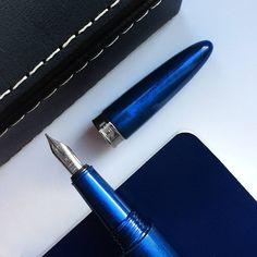 Blue Pearl Benu Fountain Pen