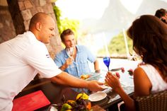 Cooking classes at Jade Mountain, St. Lucia