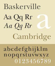 new baskerville font - Google Search