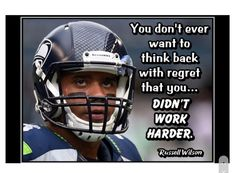 Ready to frame Russell Wilson motivational quote. Inspirational football poster. Inspirational Football Quotes, Motivational Wall Art, Inspirational Posters, Football Motivation, Motivation Wall, Sport Motivation, Quote Wall, Wall Art Quotes, Wilson Seahawks