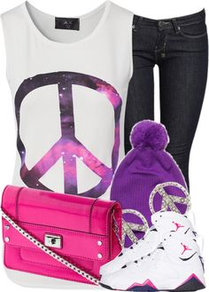 """Peace"" by nenedopesauce ❤ liked on Polyvore"