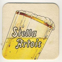 Stella Artois Beer, Beer History, Sous Bock, Home Pub, Beer Mats, Beers Of The World, Beer Coasters, Toot, Vintage Labels