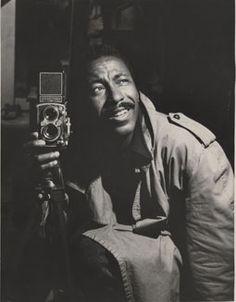 American photographer Gordon Parks. Born Gordon Roger Alexander Buchanan Parks 30 November 1912, Fort Scott, Kansas, U.S. Died 7 March 2006, New York City, New York, U.S.