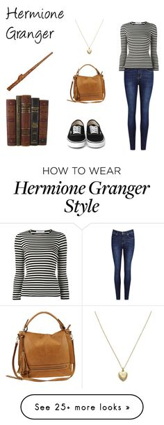 """Hermione Granger"" by emmaxjc on Polyvore featuring philosophy, Urban Expressions and Estella Bartlett"