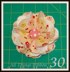 DIY: A Fabric Flower Tutorial {Featured Artist}