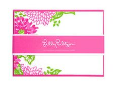 Lilly stationery - perfect for all those letters to Santa!  #Lillyholiday