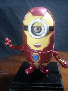 Minion Iron Man Sculpt Custom by AlejandroSandoval (despicable me / tony stark / avengers / marvel)