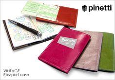 【楽天市場】ピネッティ[【PINETTI】VINTAGE パスポートケース【メール便不可】](パスポートカバー)【RCP】【パスポート入れ レザー 本革 牛革 ショートタイプ】:adesso (アデッソ)