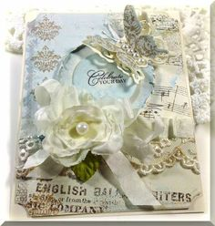 Fanciful Flourishes by Linda D - Cards and Paper Crafts at Splitcoaststampers