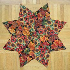 kleine Kuschelrobbe: Herbstliche Patchwork-Deckchen