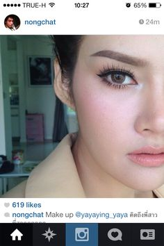 Ying Rata | Thai Actress | nongchat make up