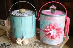 An easy back-to-school DIY teacher gift made from a upcycled paint can -- embellished with fun decorations and stuffed with must-have classroom goodies.