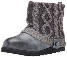 Muk Luks Women's Patti Cable Winter Boot, Grey, 6 M US MUK LUKS http://www.amazon.com/dp/B00VJVRNVI/ref=cm_sw_r_pi_dp_CnPLwb036FJA3
