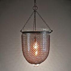 The Jali. Glass lantern pendant