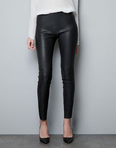 Shop: Leather trousers - Fashion Hot Topics - Telegraph