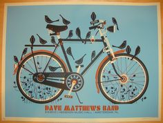 2010 Dave Matthews Band - Amsterdam Concert Poster by Methane
