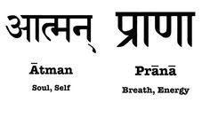 Atman und Praha in Sanskrit Sanskrit Tattoo, Hindi Tattoo, Sanskrit Quotes, Sanskrit Mantra, Zen Quotes, Yoga Quotes, Spiritual Quotes, Yoga Symbols, Hindu Symbols