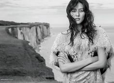ELLE China September 2017 Liu Wen photographed by Li Qí | fashion editorial fashion photography