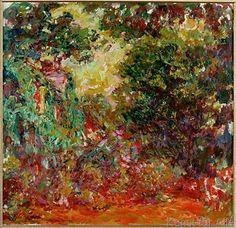 Claude Monet - La Maison de l'Artiste vue du Jardin aux Roses (Das Haus des Künstlers vom Rosengarten aus gesehen)