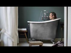 Iso-Enamel Freestanding Baths Luxury Freestanding & Roll Top Bath Tubs – Albion Bath Co Tiny House Bathroom, Bathroom Renos, Bathroom Interior, Small Bathroom, Japanese Soaking Tubs, Japanese Bath, Roll Top Bath, Small Bathtub, Tiny House Living