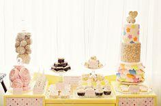 Sprinkles Dessert Table