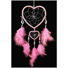 Handmade Dream Catchers Heart-shaped Dream Catcher (With a Betterdecor Gift Bag) | eBay