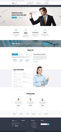 Business Solutions & Services #website #template. #themes #business #responsive #websitethemes