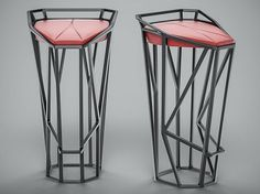 Rolans Novikovs Novikov Designs Octa Stool Geometry dynamic