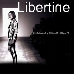 Watch Libertine LIVE with exclusive photo and text updates happening both on & off the runway.