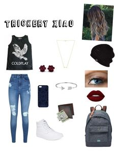 """""""Trickery Xiao"""" by smol-bradd ❤ liked on Polyvore featuring Lipsy, Vans, FOSSIL, Samantha Warren London, Saks Fifth Avenue Collection, American Coin Treasures, UGG Australia, Lime Crime, Wanderlust + Co and Bling Jewelry"""