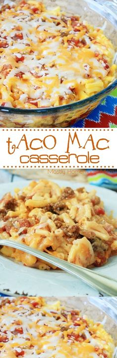1 lb Ground beef. 1 cup Salsa. 1 packet Taco seasoning. 4 tbsp Butter. 1 cup Cheddar cheese. 1/3 cup Milk. 1/3 cup Sour cream. 1 7.25 oz box Macaroni and cheese. 3/4 cup Water.