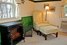 Meadowlark romantic electric fireplace.