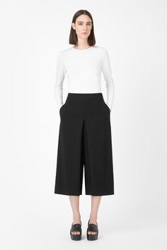 Pleated culottes - cos