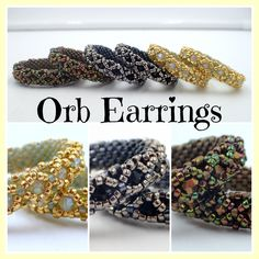 Kelly from Off the Beaded Path, in Forest City, North Carolina shows you how make a beautiful pair of earrings that go with last weeks bracelet. We have mate...