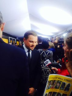 Our New York Director, Edita Birnkrant, was able to confront Leonardo DiCaprio at the red carpet premiere of The Wolf Of Wall Street tonight about the chimpanzee exploited in the film.