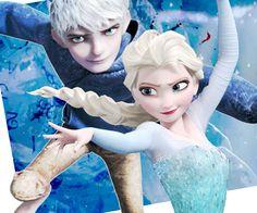 Jack and Elsa I ship this so hard