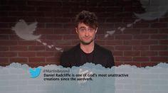 Daniel Radcliffe from Celebrity Mean Tweets From Jimmy Kimmel Live!