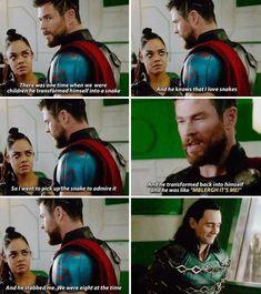 Ah childish pranks by Loki
