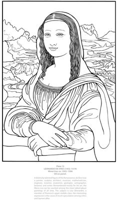 Welcome to Dover Publications - From: Dover Masterworks: Color Your Own Italian Renaissance Paintings