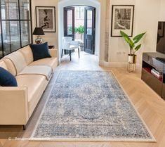 Classic Rugs, Modern Traditional, Border Design, Blue Accents, Colorful Rugs, Blue Grey, Concept, Interior, Uni